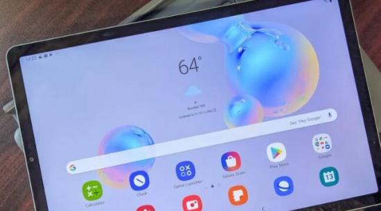 Android 11开始为三星的Galaxy Tab S6系列平板电脑推出